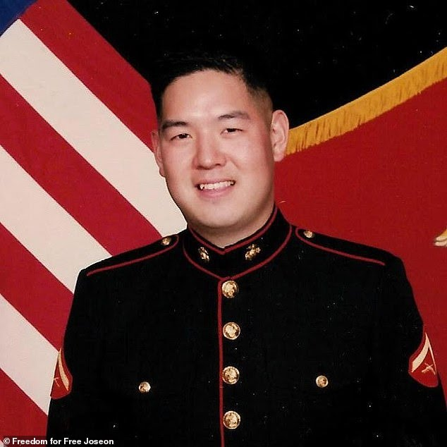In 2019, Ahn (above) was arrested by US Marshals during a raid on the Los Angeles apartment of a co-defendant, Adrian Hong Chang, a leader of the Free Joseon group